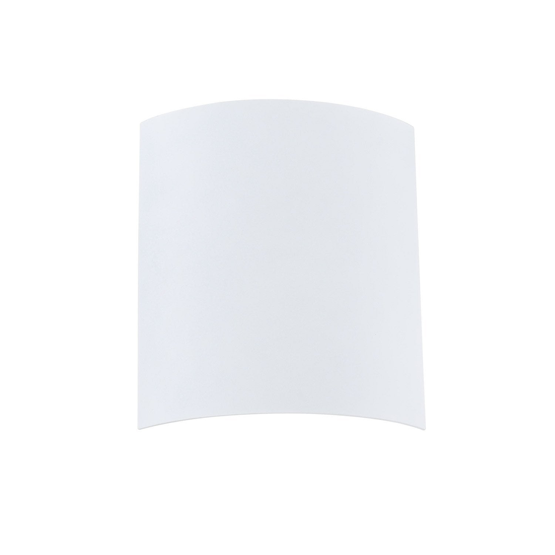 Verre pour applique composer basic blanc blanc n 0 for Verre pour applique murale