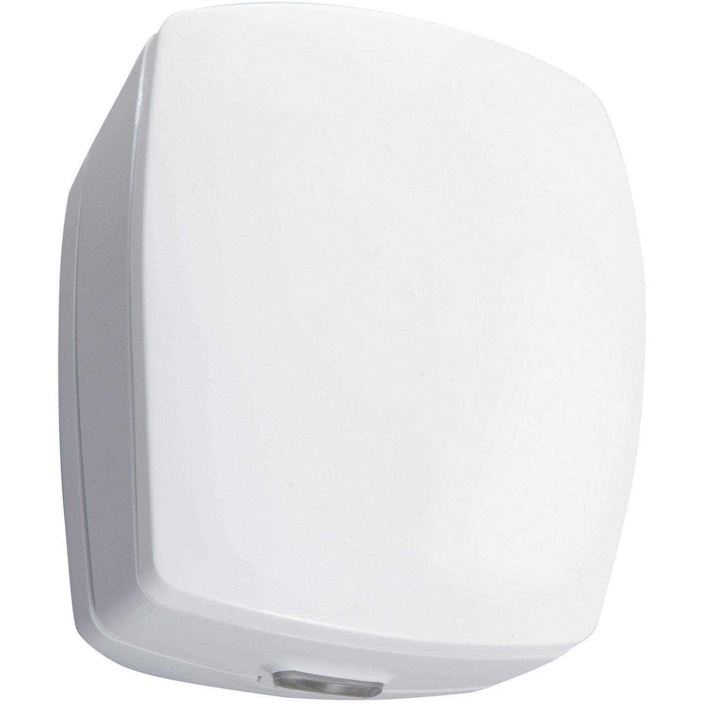 D tecteur de mouvement pour alarme maison delta dore blanc for Alarme pour maison individuelle leroy merlin