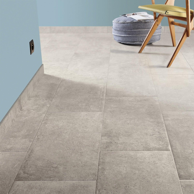 Carrelage sol et mur beige effet pierre chateau x l for Pierre et carrelage