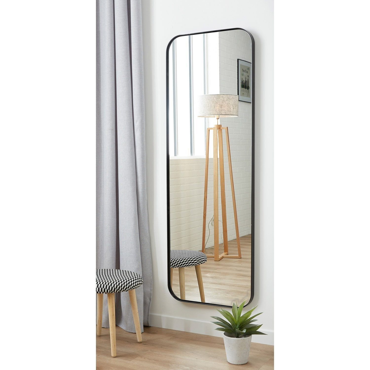 Accroche miroir leroy merlin maison design for Leroy merlin decoupe miroir