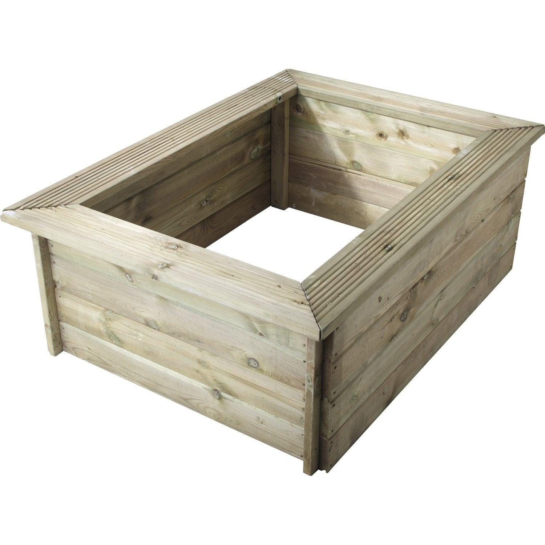 Kit bassin ubbink bois quadra 3 noir cm leroy merlin - Construire bassin poisson hors sol ...