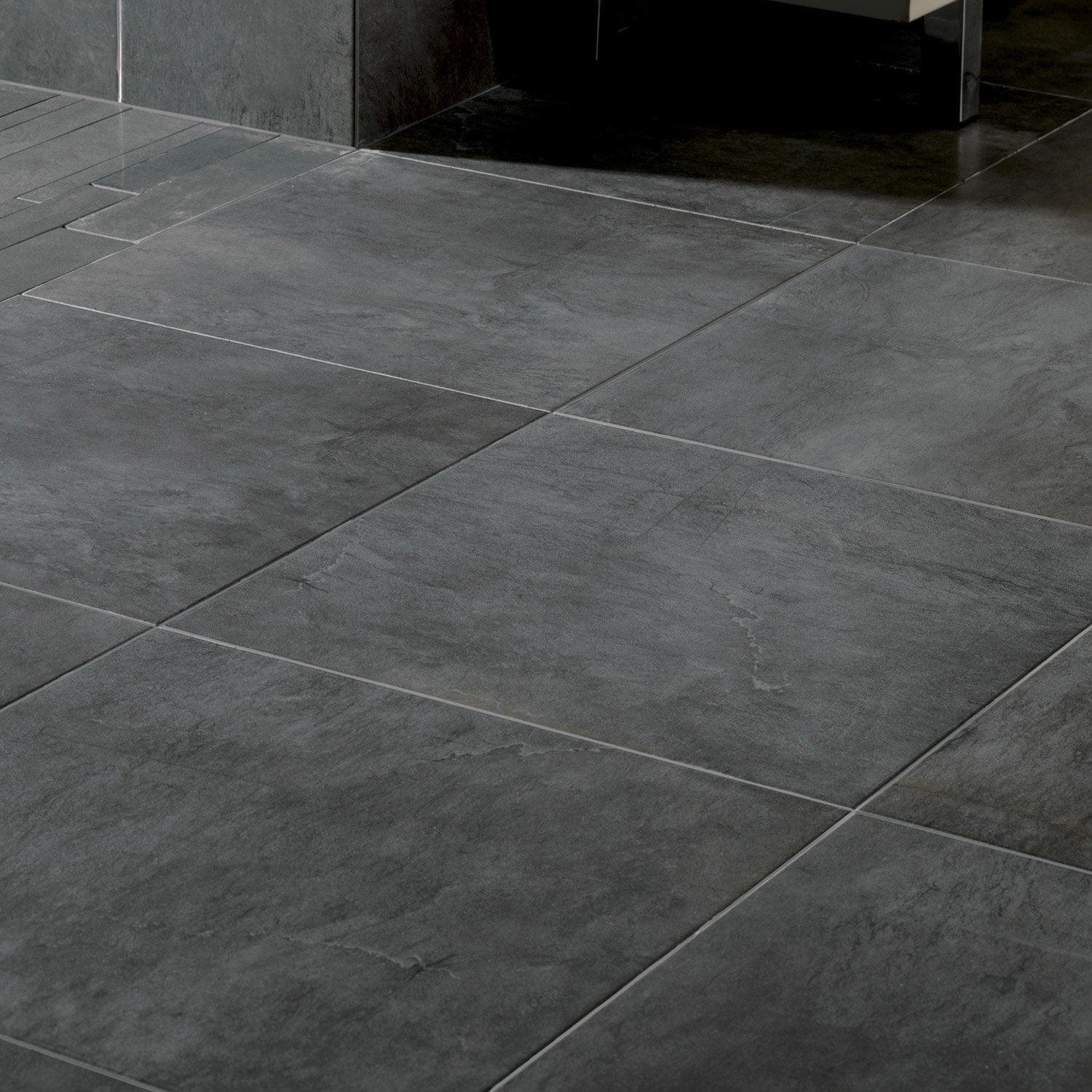 Carrelage gris anthracite for Carrelage 60x60 gris anthracite