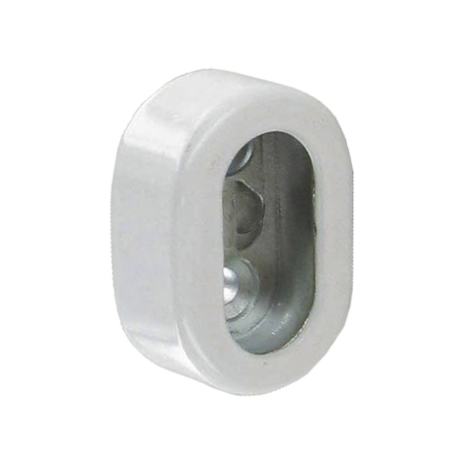 Lot de 2 supports caches d30 x 15 mm ovale blanc leroy - Miroir ovale leroy merlin ...