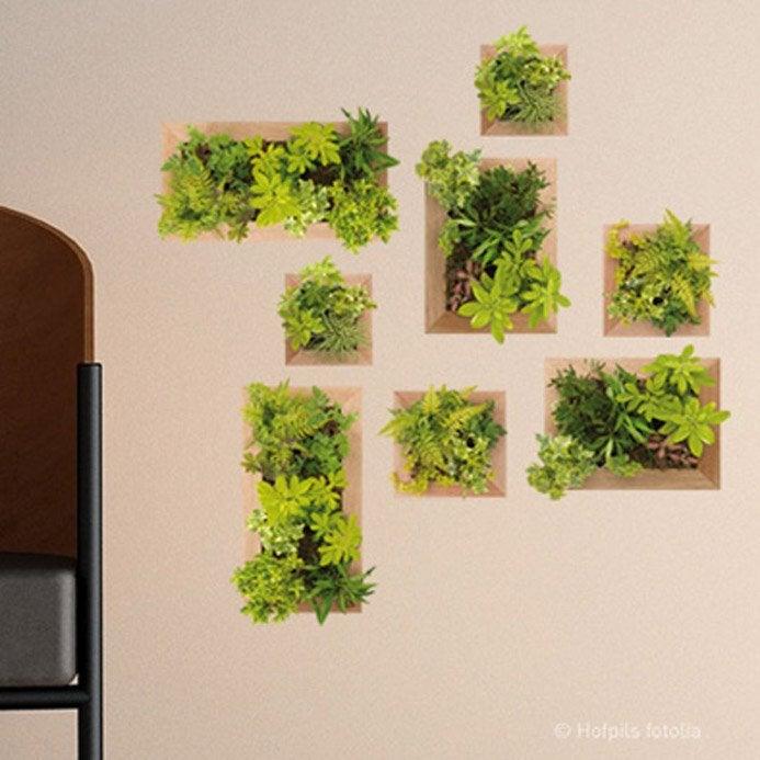 Sticker jardin vertical 21 cm x 29 7 cm leroy merlin - Huerto vertical leroy merlin ...
