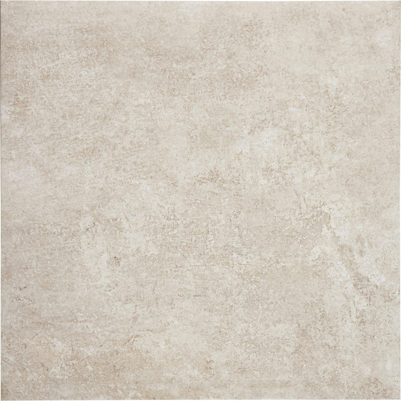 Carrelage sol et mur beige effet pierre chateau x l for Carrelage sol 20x20 beige