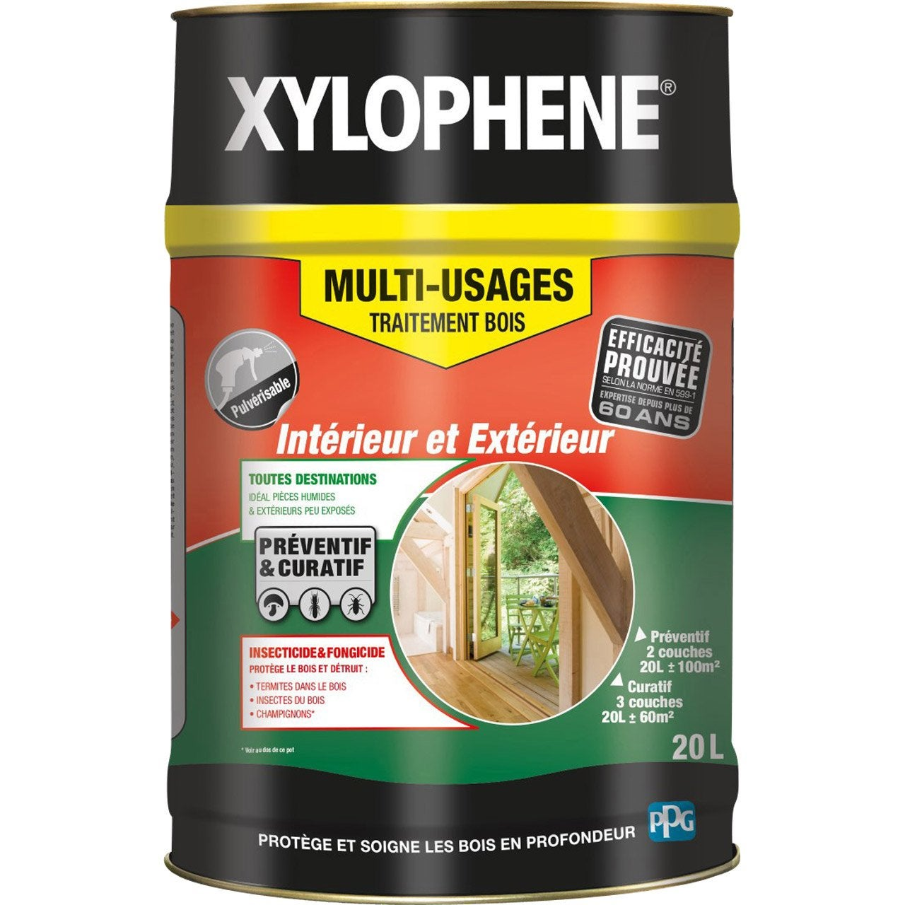 Trait multi usage xylophene 20l leroy merlin - Xylophene leroy merlin ...
