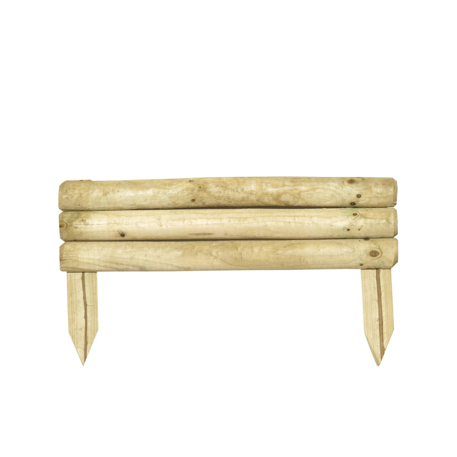bordure planter minitraverse bois naturel x