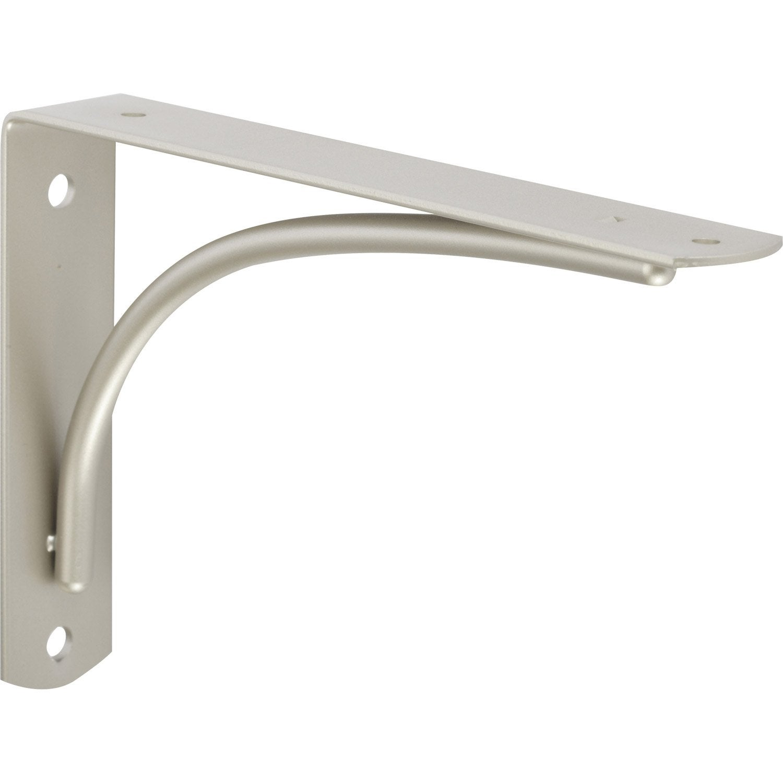 querre d corative dino en acier nickel gris 12 5 x 18. Black Bedroom Furniture Sets. Home Design Ideas