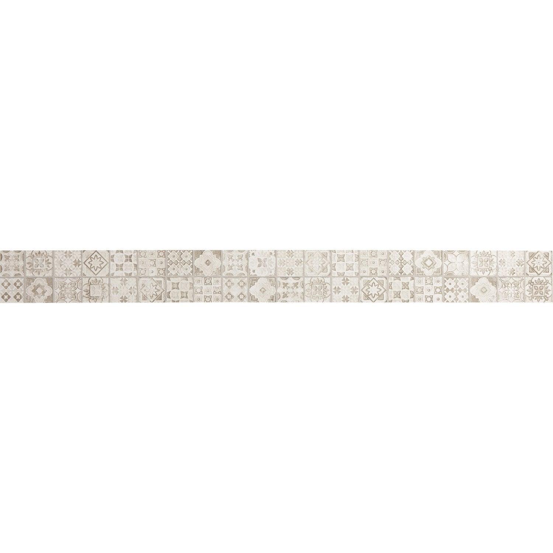 listel mosaic beige l 5 7 x cm leroy merlin. Black Bedroom Furniture Sets. Home Design Ideas