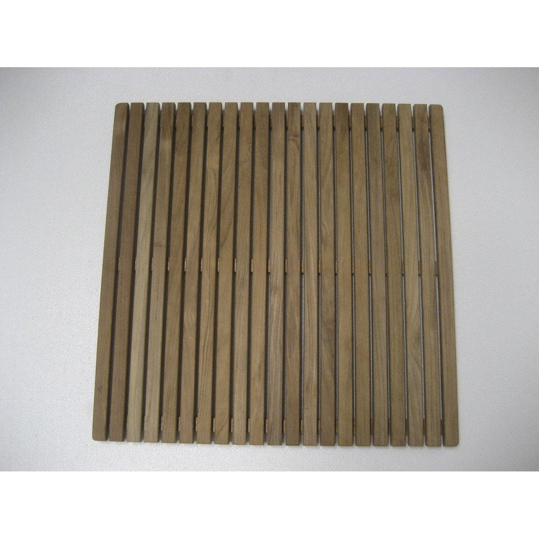 caillebotis nerea carr 65 x 65 cm leroy merlin. Black Bedroom Furniture Sets. Home Design Ideas