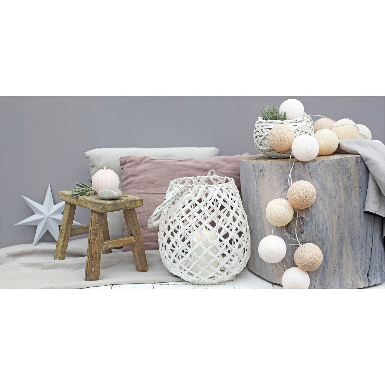 toile led tronc d 39 arbre et guirlande boules x. Black Bedroom Furniture Sets. Home Design Ideas