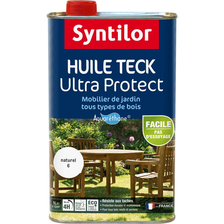 Protection des terrasses (saturateur) et mobilier de jardin (huile ...