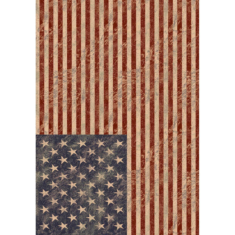 tapis multicolore ispahan drapeau usa x cm leroy merlin. Black Bedroom Furniture Sets. Home Design Ideas