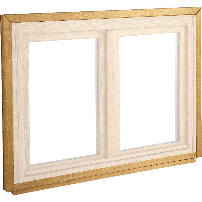 elargisseur pour fen tre et porte fen tre en bois longueur 225cm leroy merlin. Black Bedroom Furniture Sets. Home Design Ideas