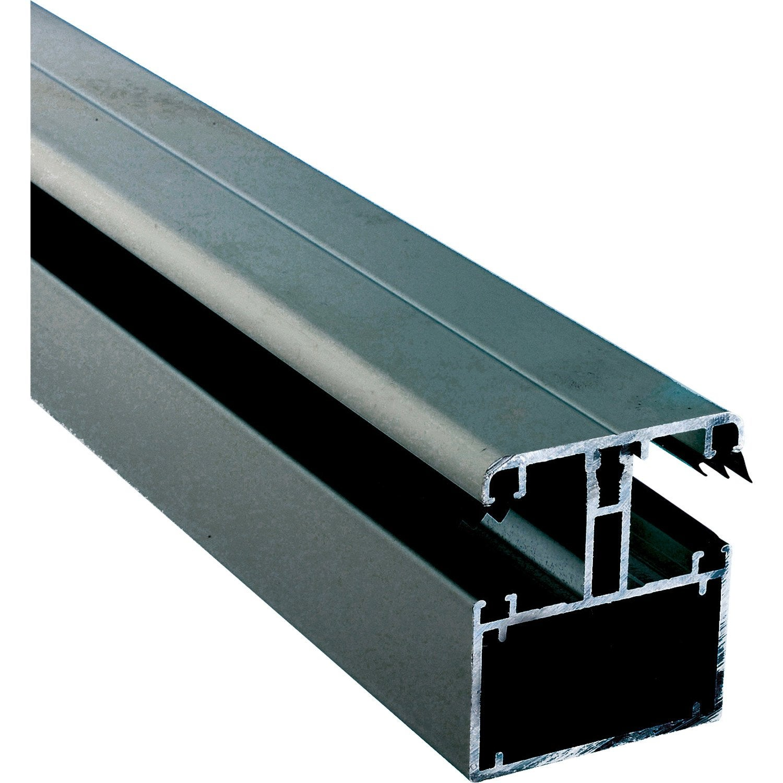 Kit jonction portante pour plaque ep 16 32 mm gris l 4 m leroy merlin - Leroy merlin plaque polycarbonate ...