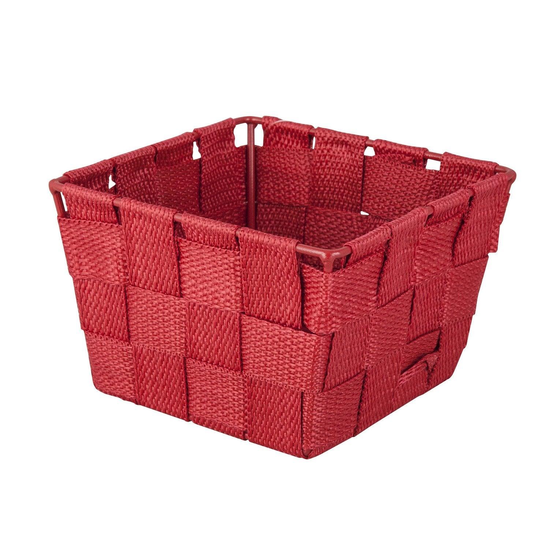 panier en plastique basket rouge rouge n 3 leroy merlin. Black Bedroom Furniture Sets. Home Design Ideas