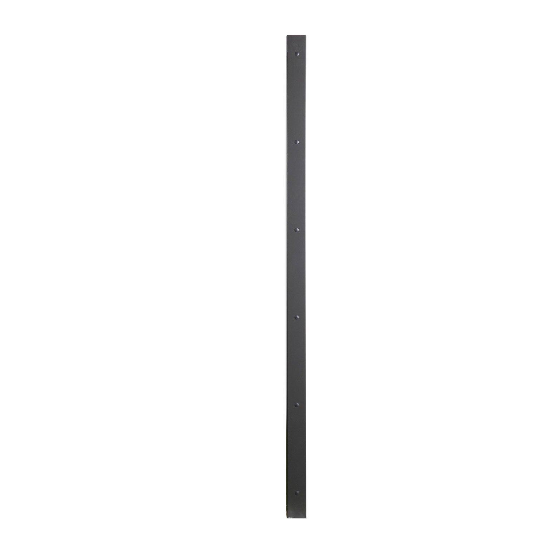 Poteau Aluminium Visser Gris Anthracite X L 7 4 X P 7 7 Cm Leroy Merlin