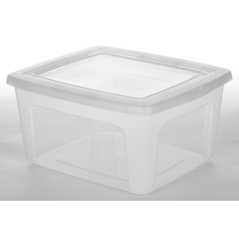 boites plastiques rangement pas cher  table de lit