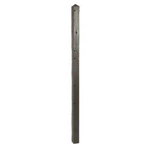 poteau pour cl 244 ture droite en b 233 ton pleine l 200 x h 200 cm x ep 80 mm leroy merlin
