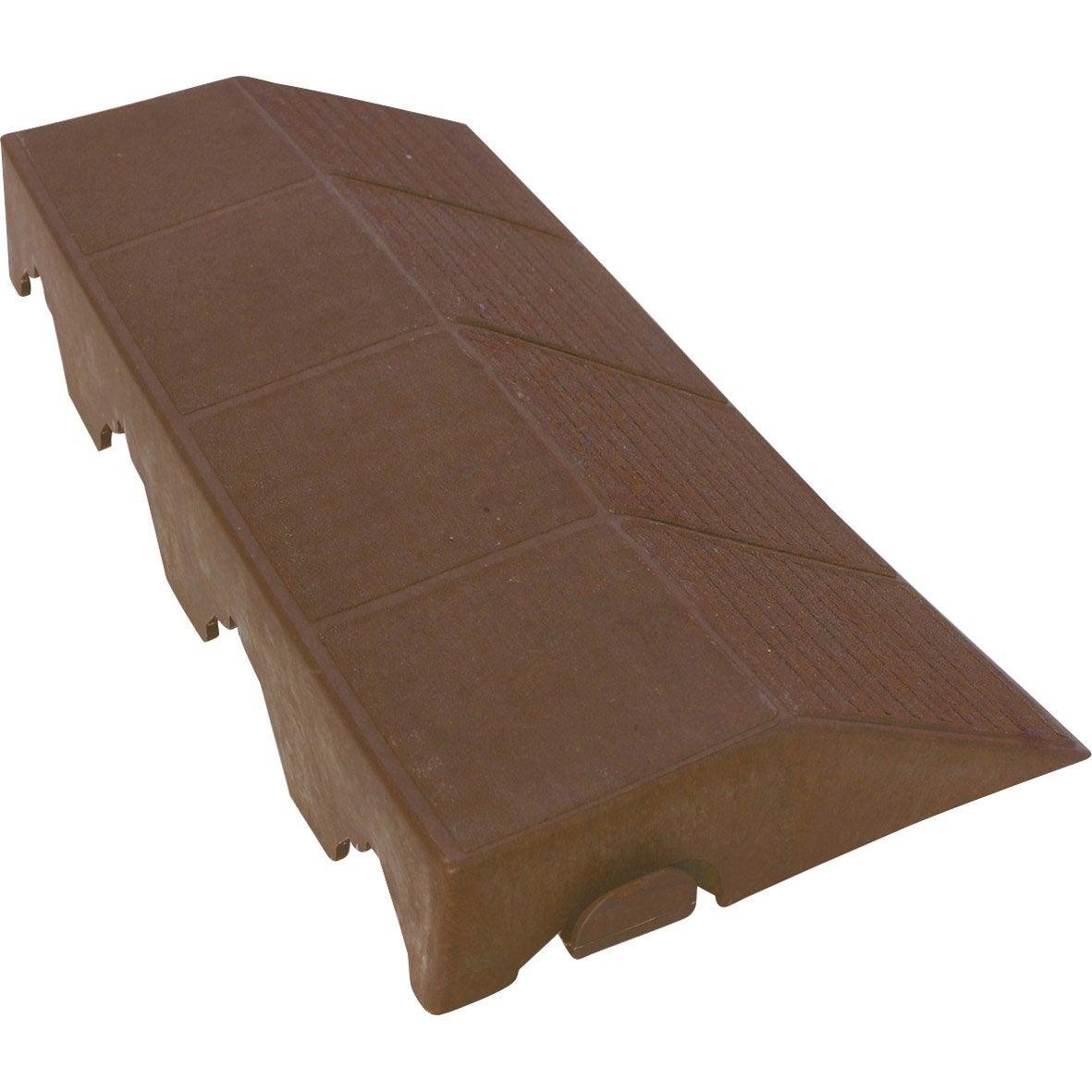bordure de finition xtiles crossover l 0 4 x l m leroy merlin. Black Bedroom Furniture Sets. Home Design Ideas