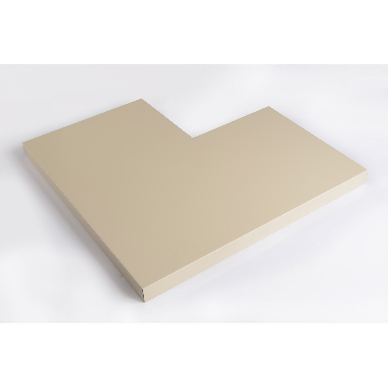 angle pour couvertine aluminium 500 x 500 mm l 0 5 m leroy merlin. Black Bedroom Furniture Sets. Home Design Ideas