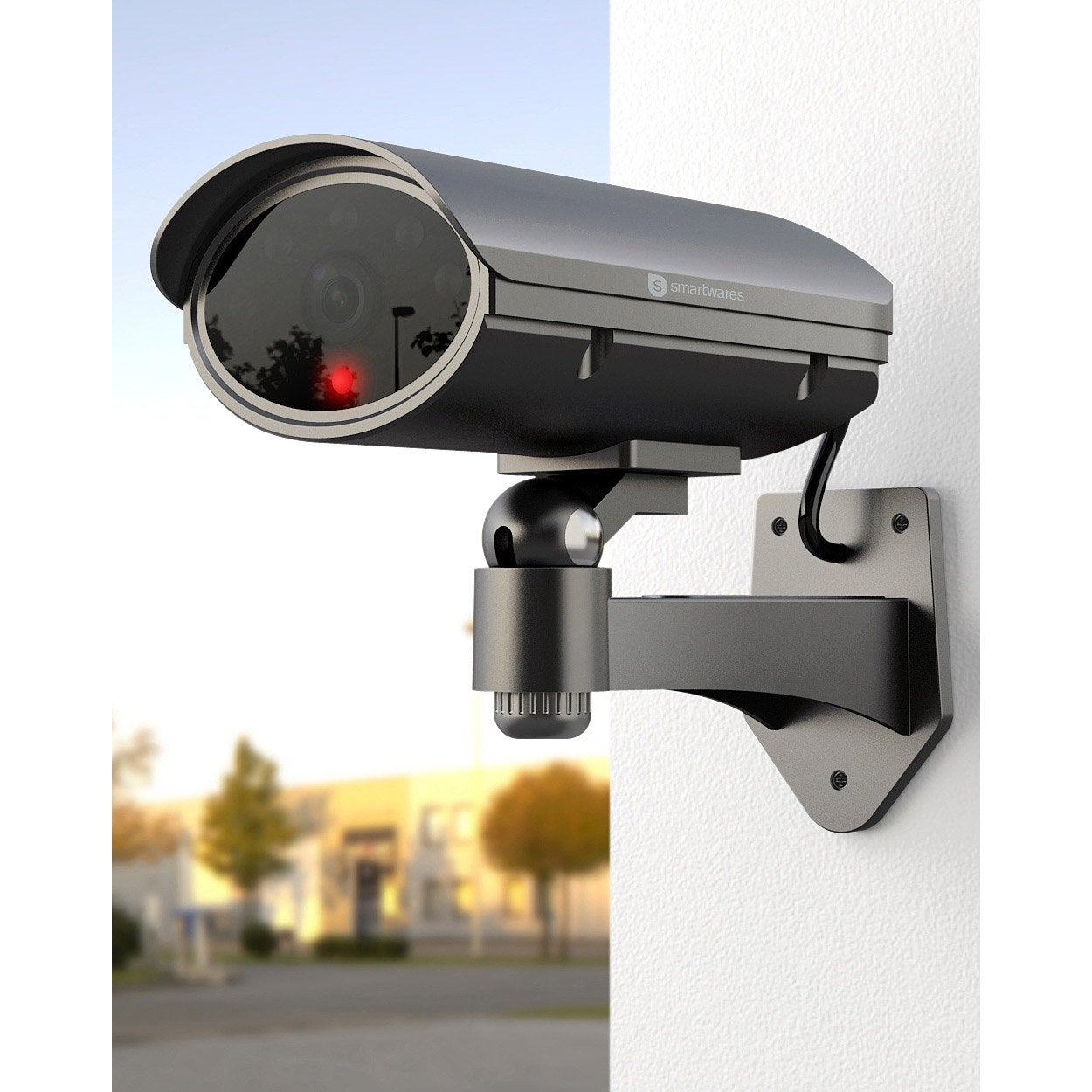 Cam ra factice motoris e smartwares cs90d leroy merlin for Video surveillance sans fil exterieur avec enregistrement