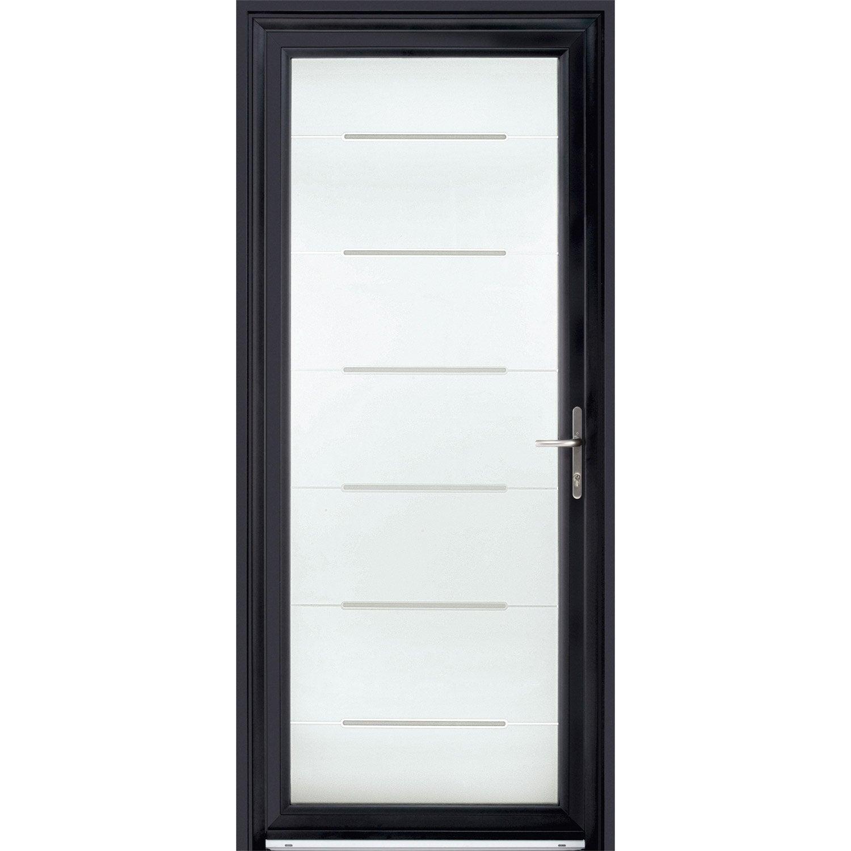 Porte d 39 entr e sur mesure en aluminium stellium excellence for Prix porte d entree alu