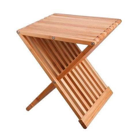 tabouret poser naturel bambou leroy merlin. Black Bedroom Furniture Sets. Home Design Ideas
