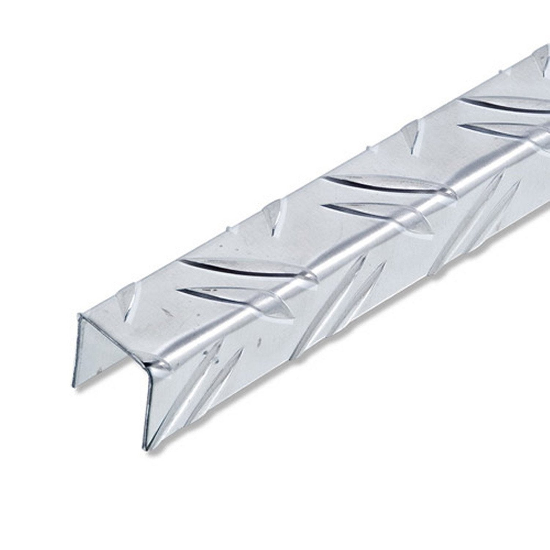 U carr aluminium brut l 2 5 m x l cm x h cm - Profile alu en u leroy merlin ...