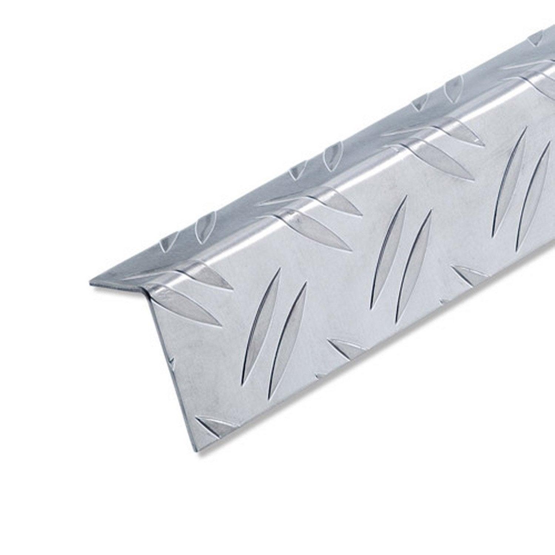 Corni re in gale aluminium brut l 2 5 m x l cm x h 2 - Corniere alu leroy merlin ...