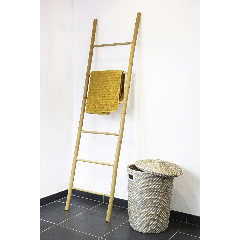 Porte serviettes poser bambou leroy merlin - Porte serviette salle de bain ikea ...