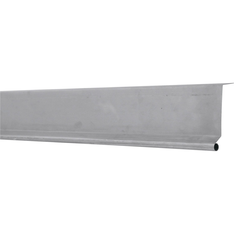 bande de rive biseau lmc virano gris mm x l 2 m leroy merlin. Black Bedroom Furniture Sets. Home Design Ideas