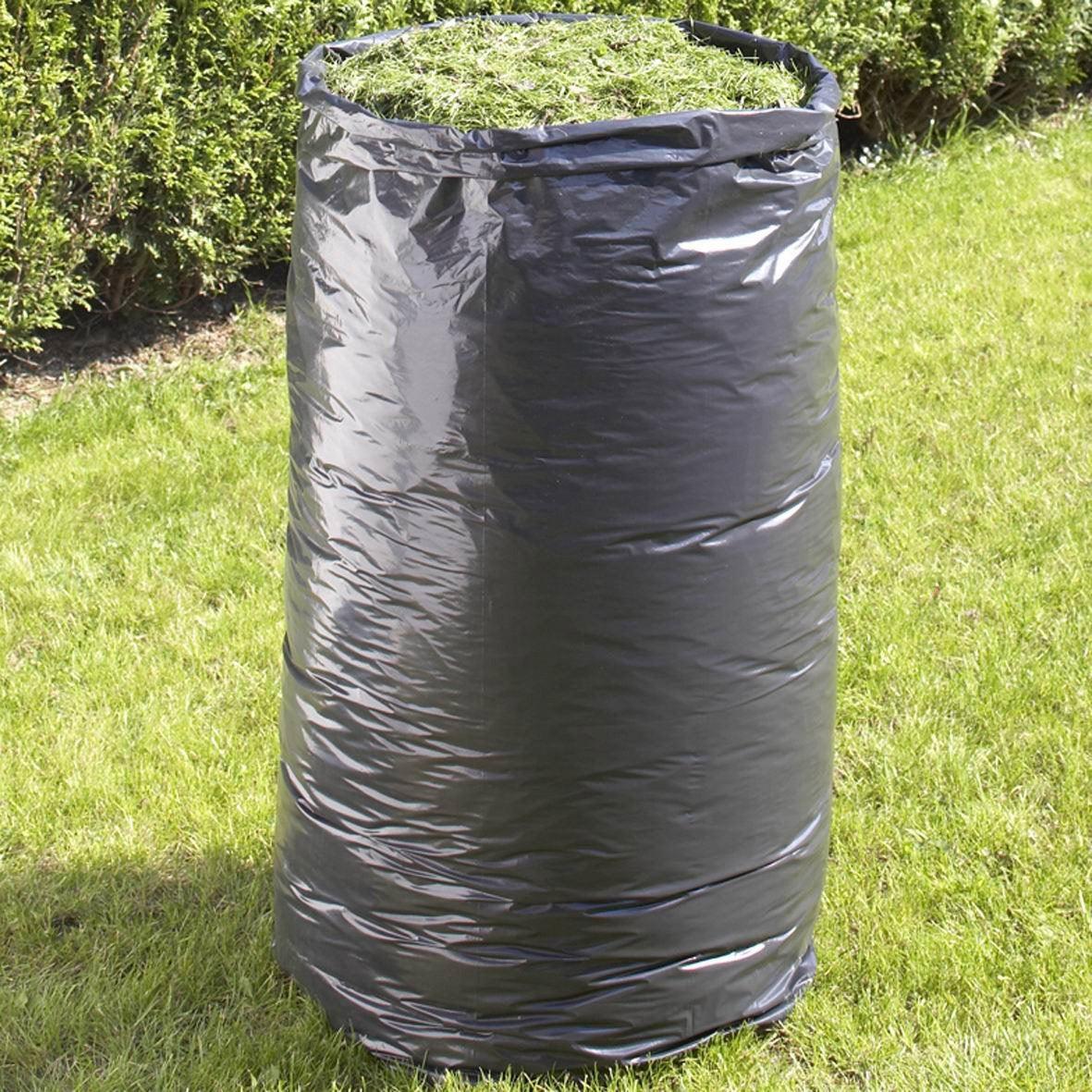 lot de 10 sacs jetables de jardin geolia 100 l leroy merlin. Black Bedroom Furniture Sets. Home Design Ideas
