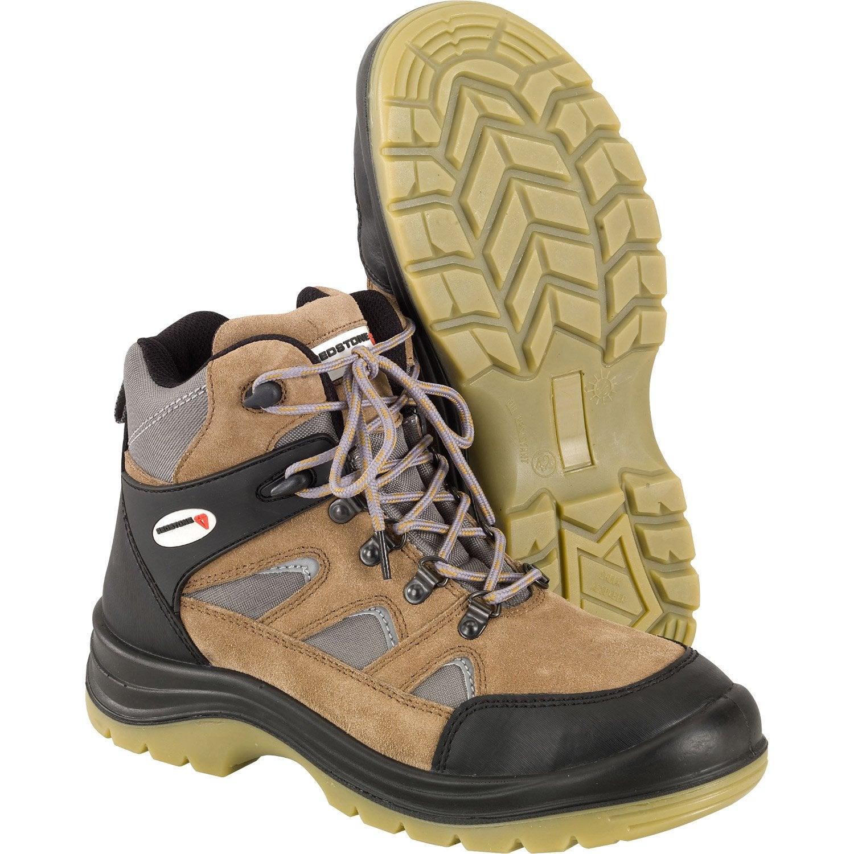 1dfd92dcee6 ... chaussures de securite redstone coloris camel et gris
