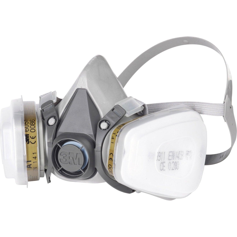 masque de protection peinture et vernis 3m protect leroy. Black Bedroom Furniture Sets. Home Design Ideas