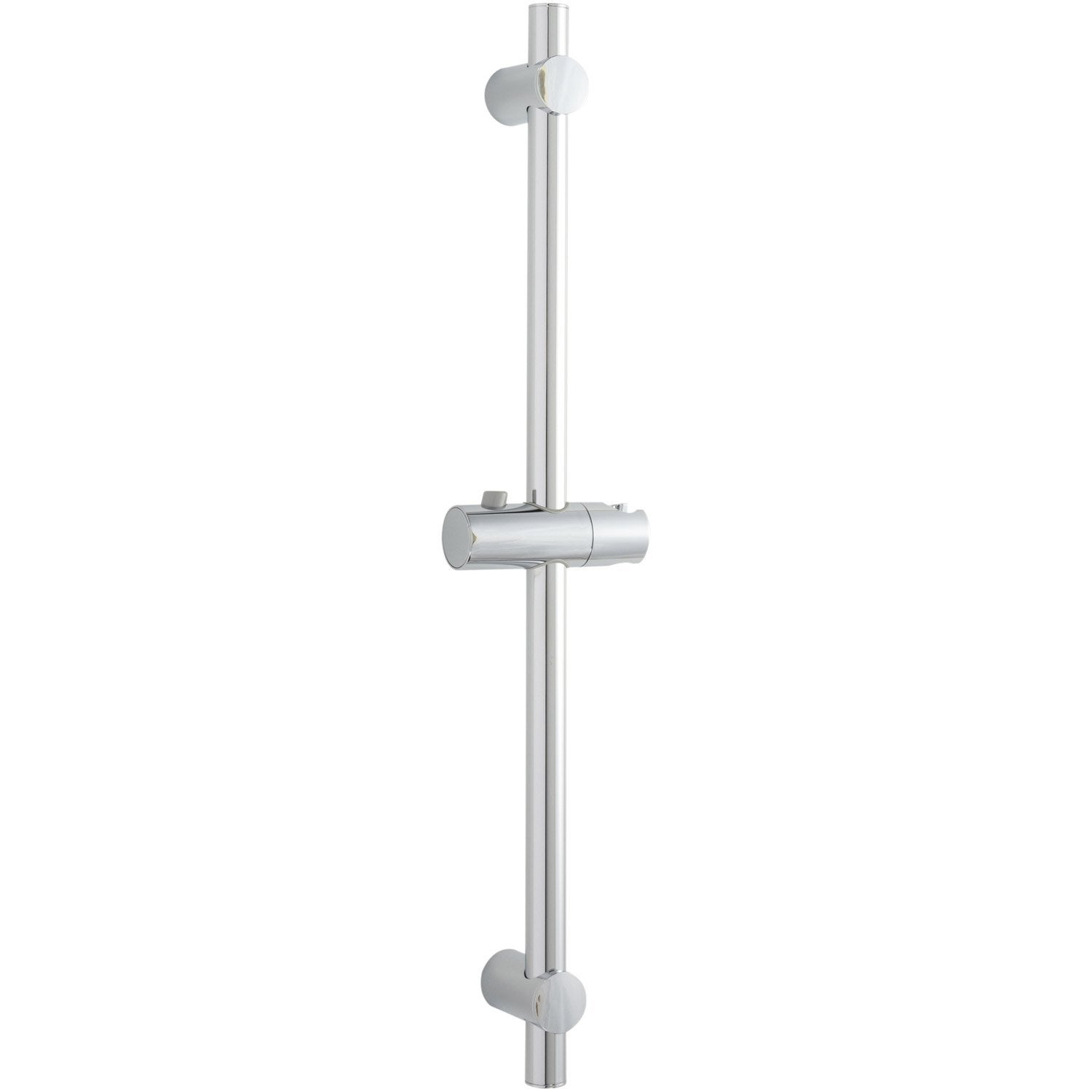 Barre de douche chrome sensea ikka leroy merlin - Barre de douche leroy merlin ...