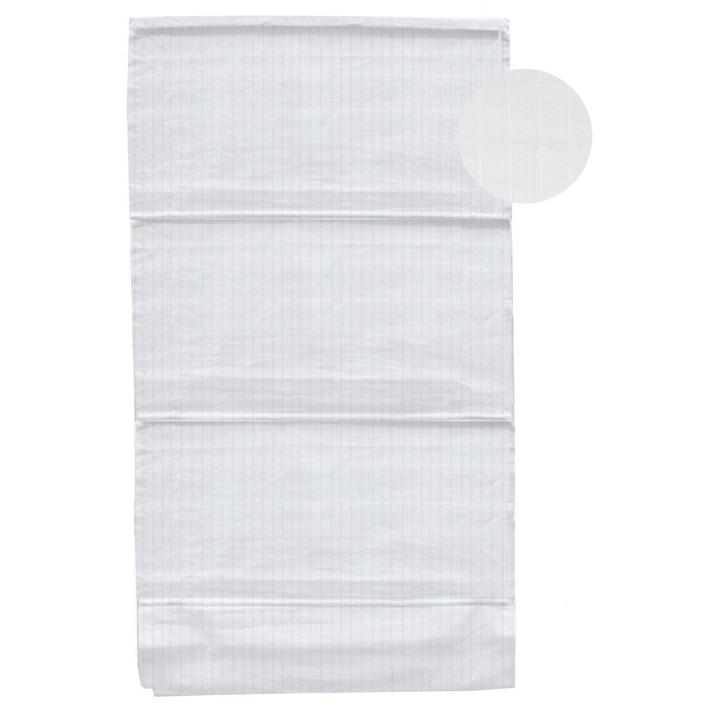 store bateau 100 coton new line blanc 40x180 cm leroy merlin. Black Bedroom Furniture Sets. Home Design Ideas