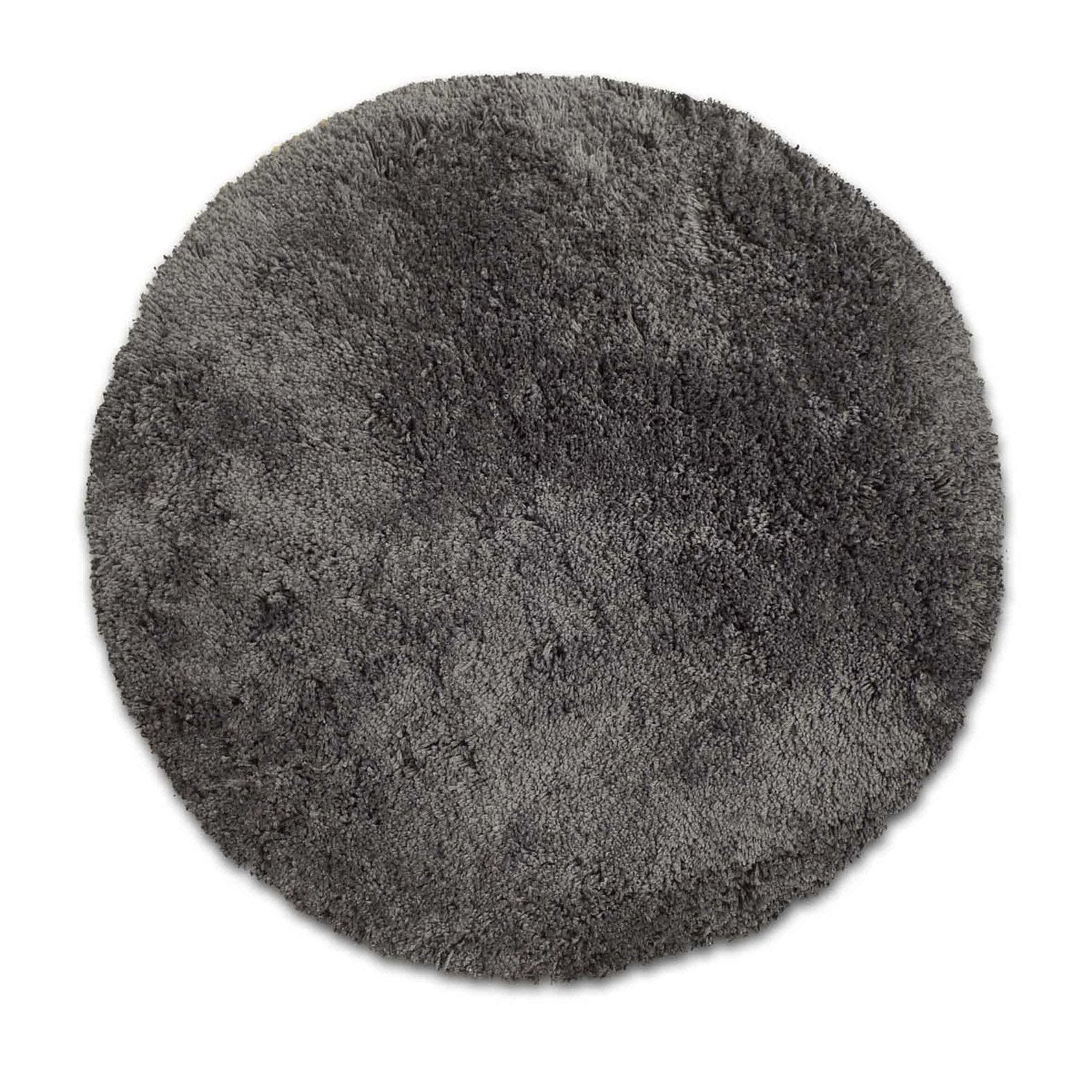 Tapis gris shaggy agathe mm leroy merlin - Tapis shaggy gris but ...