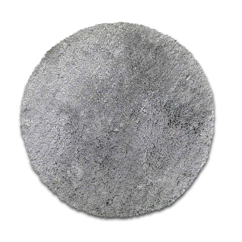 Tapis shaggy agathe gris galet n 4 diam tre 65 cm leroy merlin - Leroy merlin tapis shaggy ...