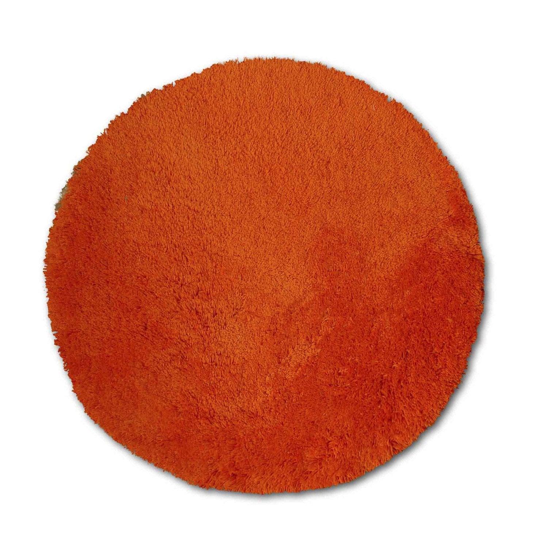 Tapis orange shaggy agathe mm leroy merlin - Leroy merlin tapis shaggy ...