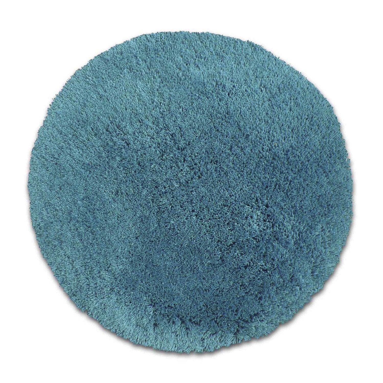 tapis bleu shaggy agathe mm leroy merlin. Black Bedroom Furniture Sets. Home Design Ideas