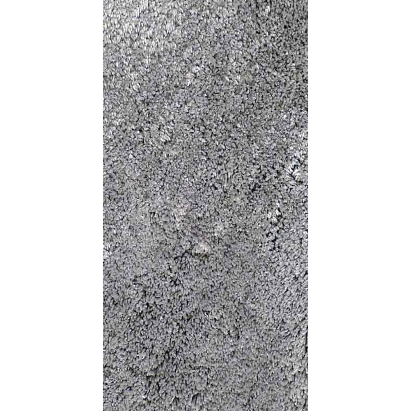 tapis gris shaggy agathe x cm leroy merlin. Black Bedroom Furniture Sets. Home Design Ideas