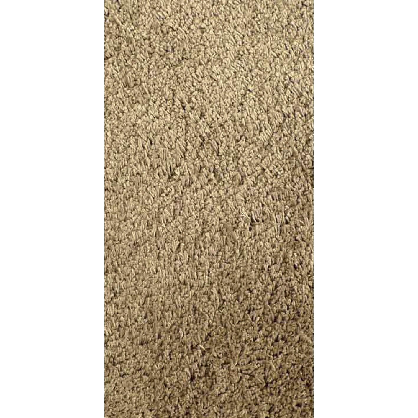 tapis shaggy agathe brun taupe n 3 120x60 cm leroy merlin. Black Bedroom Furniture Sets. Home Design Ideas