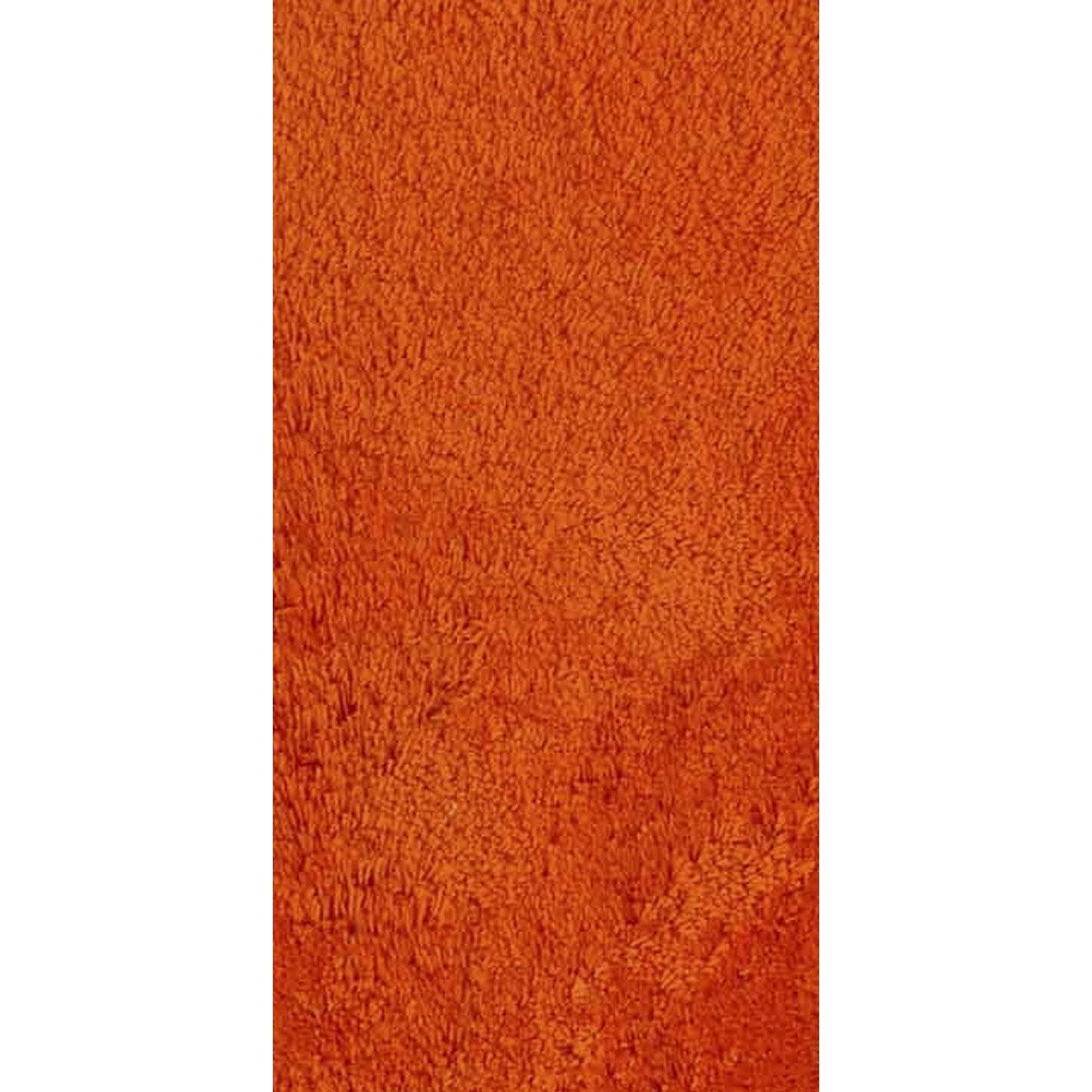 tapis orange shaggy agathe x cm leroy merlin. Black Bedroom Furniture Sets. Home Design Ideas