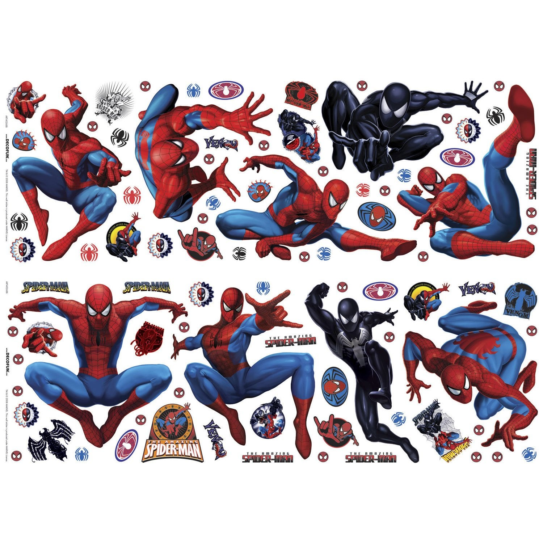 Sticker spiderman 70 cm x 25 cm leroy merlin for Stickers murali leroy merlin
