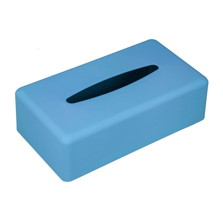 Bo te mouchoirs en plastique bleu atoll 4 charlie for Portillon plastique