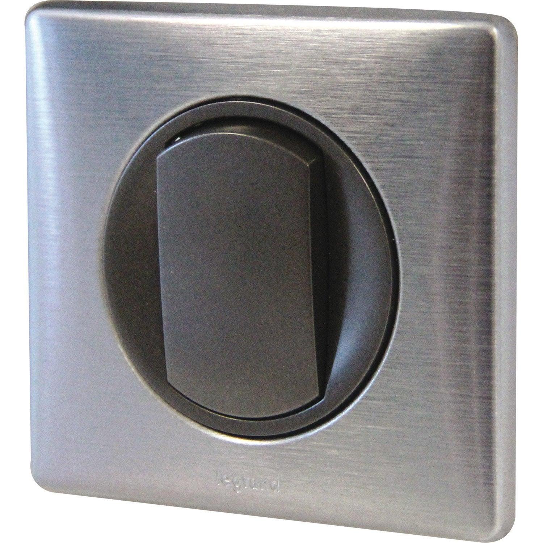 interrupteur va et vient c liane legrand tungst ne. Black Bedroom Furniture Sets. Home Design Ideas