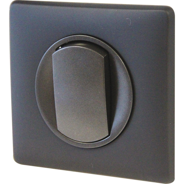 interrupteur schneider odace castorama. Black Bedroom Furniture Sets. Home Design Ideas