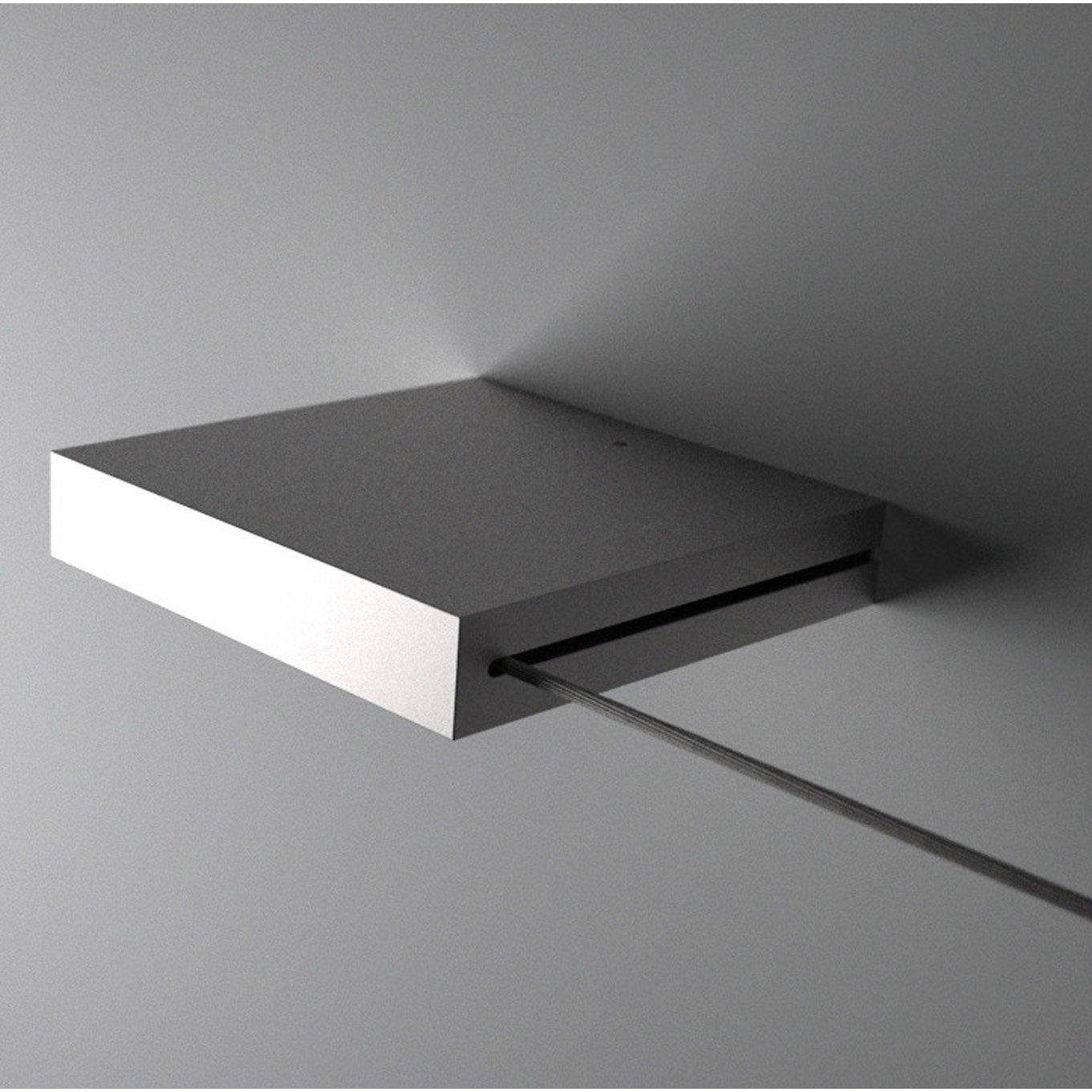 c ble pour mur et plafond universel en kit nickel mat long 5 m leroy merlin. Black Bedroom Furniture Sets. Home Design Ideas
