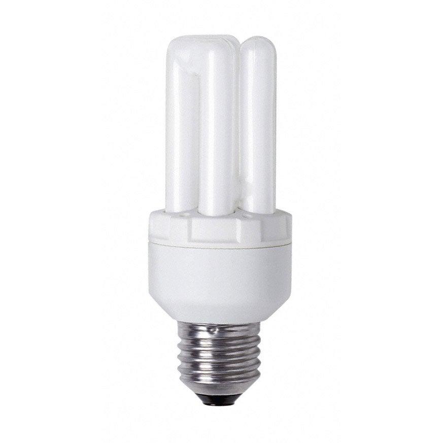 Ampoule tube conomie d 39 nergie 18w osram e27 lumi re - Ampoule lumiere noire leroy merlin ...